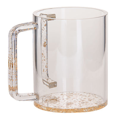 Picture of #7070--G Wash Cup Gold Lucite